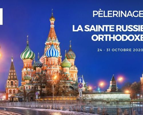 Pèlerinage en Sainte Russie orthodoxe